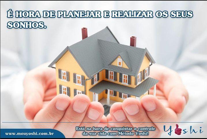 Seja prudente e crie um plano de ação que esteja dentro da sua realidade e assim, poderá construir e crescer.  www.meuyoshi.com.br