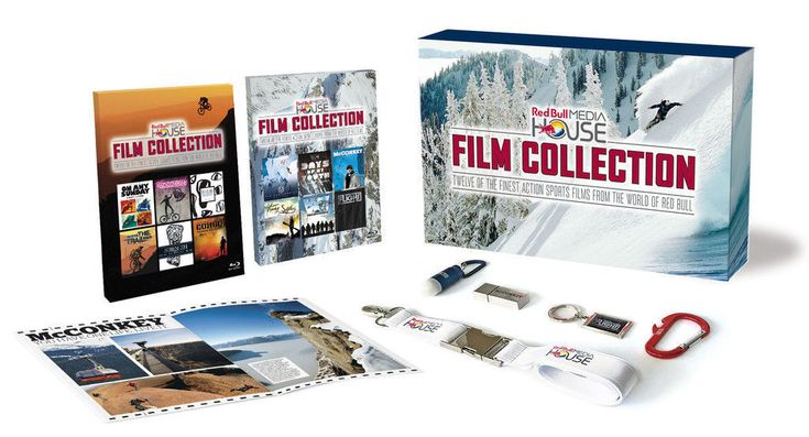 Merry Christmas from Red Bull: Media House Blu-ray Box Set Film Collection Giveaway - https://movietvtechgeeks.com/merry-christmas-from-red-bull/-Merry Christmas and Happy Holidays everyone, and to add just one more treat to put under your tree, our friends at Red Bull Media House are giving a lucky reader their rather massive blu-ray box set film collection.