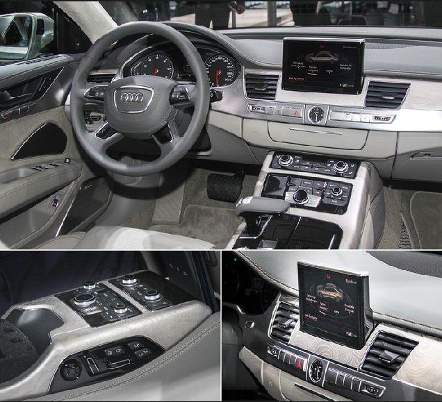 New Audi A8 2018 Body Styles