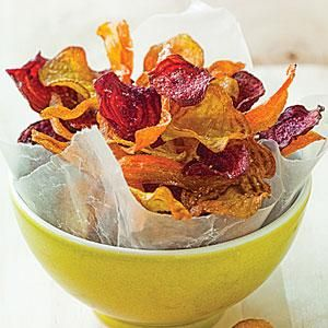 Carrot and Beet Chips   MyRecipes.com