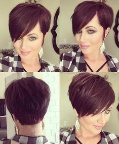 34 flattering short haircuts for older women in 2019