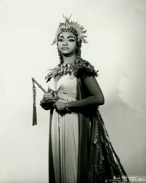 Grace Bumbry, an opera singer from St. Louis, is considered one of the leading mezzo-sopranos of her generation. She debuted in London in 1959, and with the Paris Opera the following year. In 1961, she was featured in Bayreuth, Germany's Wagner Festival. The first African American to sing there, Bumbry was an international sensation and won the Wagner Medal. She is credited for paving the way for future African American opera and classical singers. Missouri History Museum
