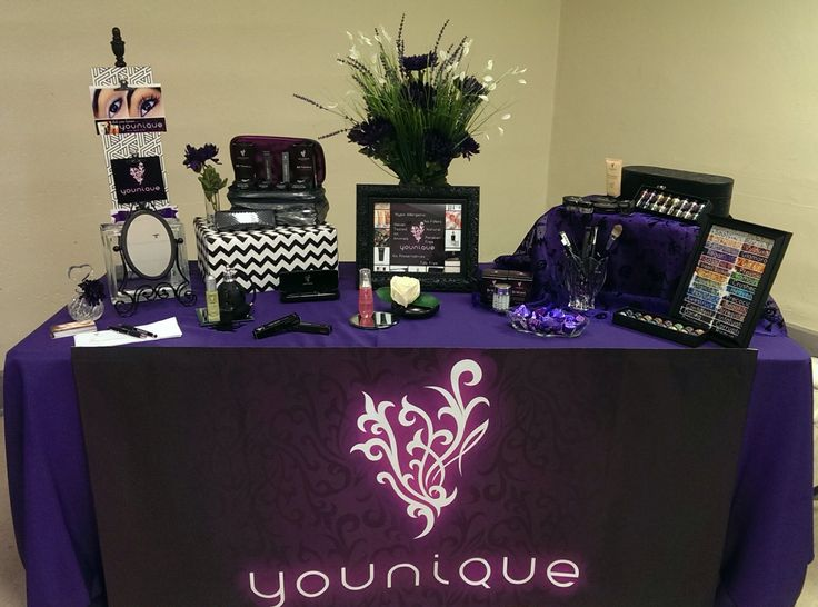 younique vendor table wwwyouniqueproductscomlauriepowell