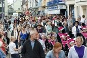 Grand parade for Ilfracombe's Victorian Week31