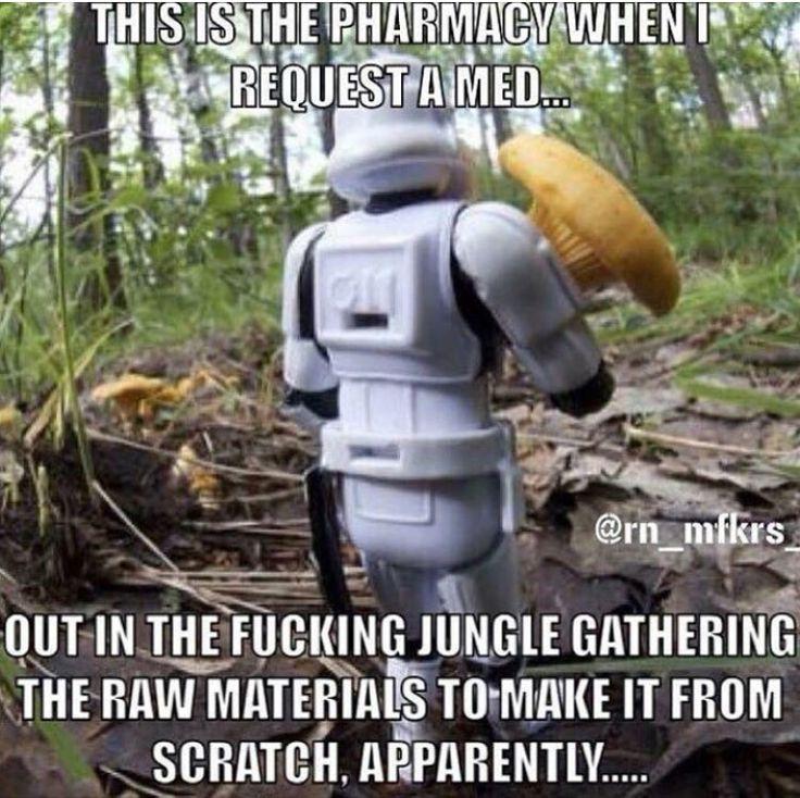 Hahahaha!  #ILoveMyPharmacists