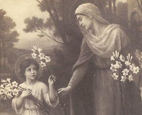 Vintage Prayer Card Catholic Prayer Card by ChristmasAngels, $12.00
