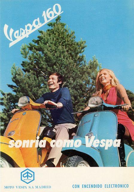 Vespa retro España
