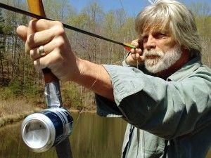 Improvised Bowfishing Reels