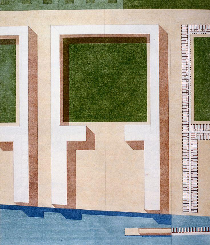 inspired by Ludwig Hilberseimer:Giorgio Grassi '70