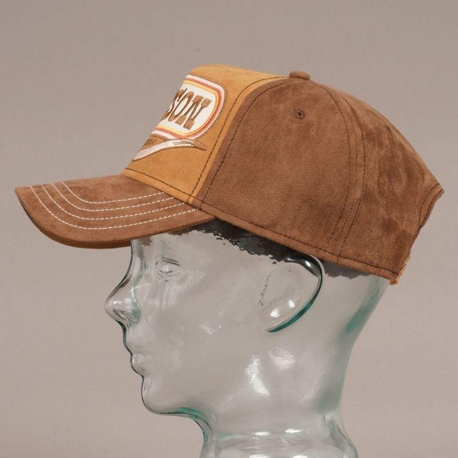 Buffalo Horn American Heritage Cap Brown Stetson Hat Newsboy Cap Cap