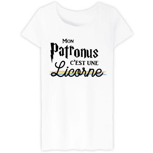 [Harry Potter] Patronus Licorne // Bienvenue sur Keewi.io - Créez et vendez vos T-Shirts Gratuitement