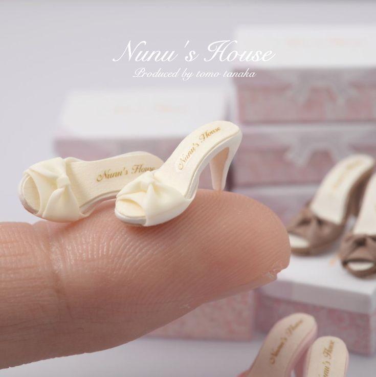 2017 March, Miniature Shoes♡ ♡  By Nunu's House