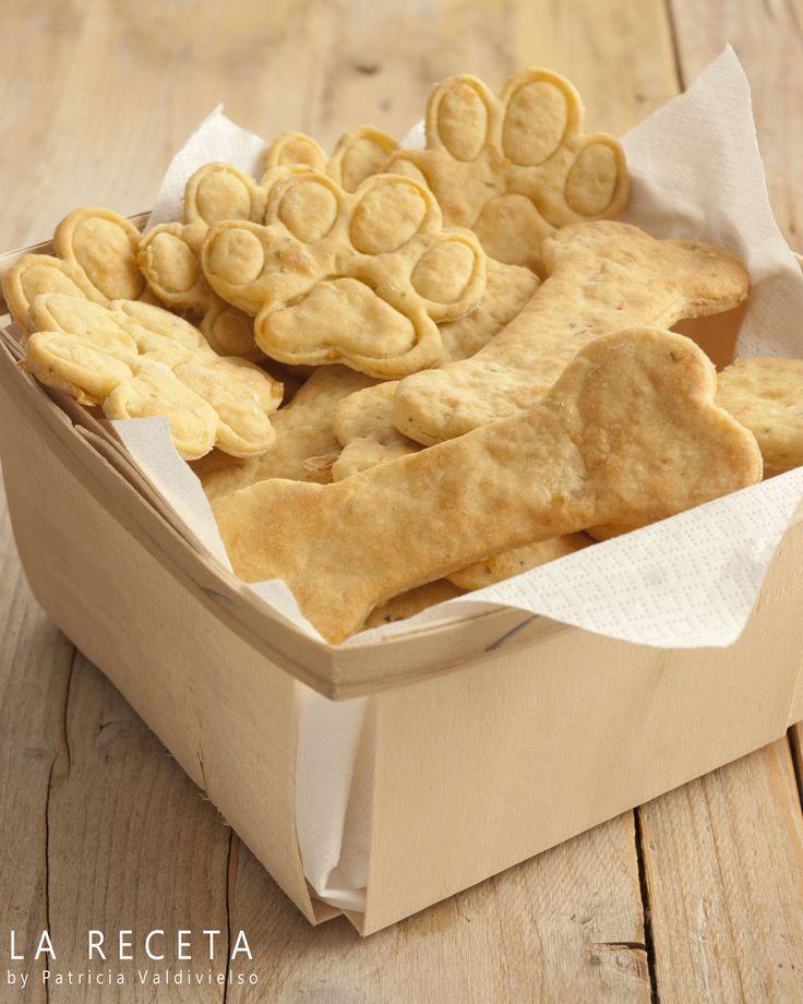 Galletas para perros de pollo y queso