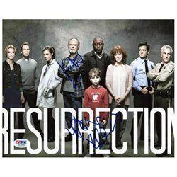 Resurrection (2) Kurtwood Smith & Devin Kelley Signed 8X10 Photo PSA/DNA #X12291