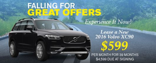 Volvo XC90 Lease Offer at Volvo of Dallas