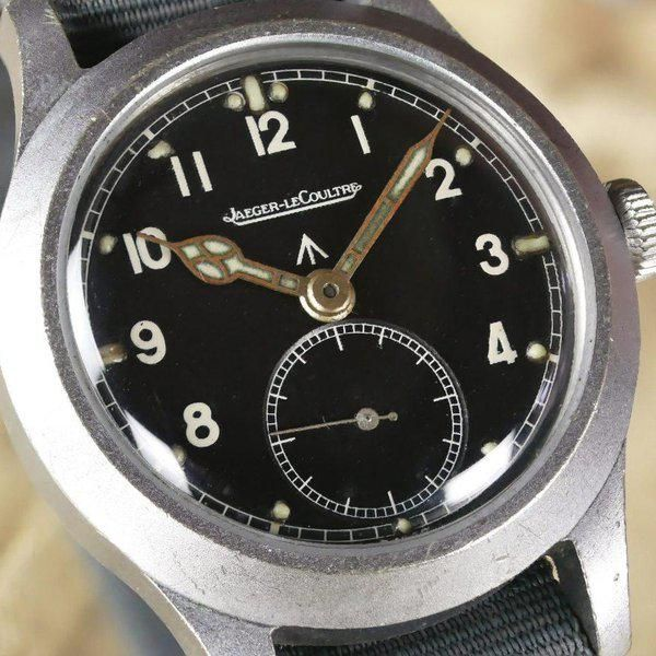 Vintage JLC WWW WW2 British Military Watch