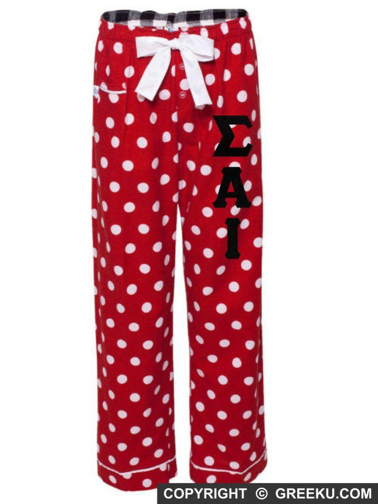 Sigma Alpha Iota Flannel Pajama Pants