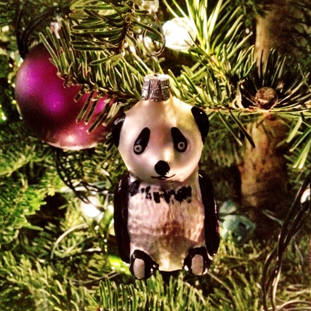 Panda ornament!