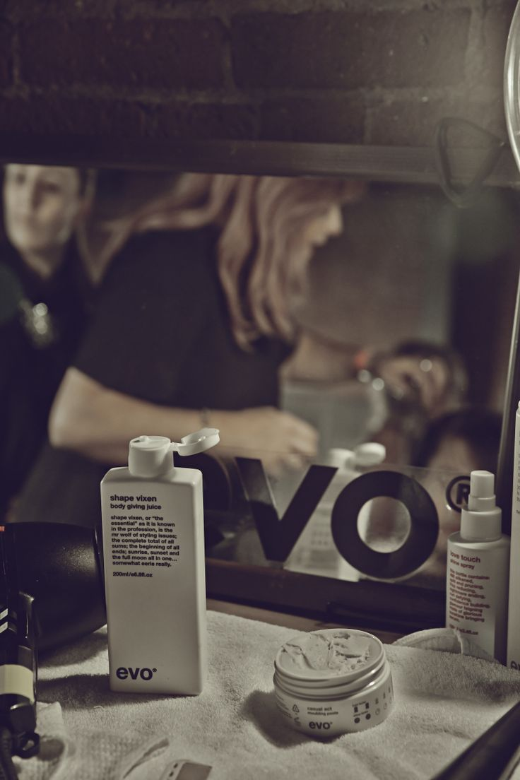 Behind the scenes with Renya Xydis and #evohair at sass + bide #NYFW #NYST14