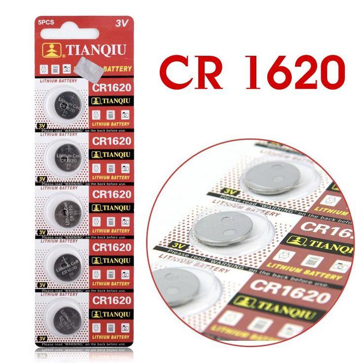 11.11 5 unids/lote CR1620 1620 ECR1620 DL1620 280-208 3 V Pila de Botón de Celda de Batería, Batería de litio de La Moneda batería Para Relojes, relojes