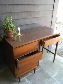 Mid Century Writing Desk  - $375