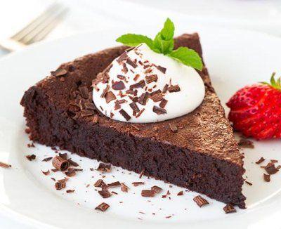 Prăjitură de ciocolată fără făină