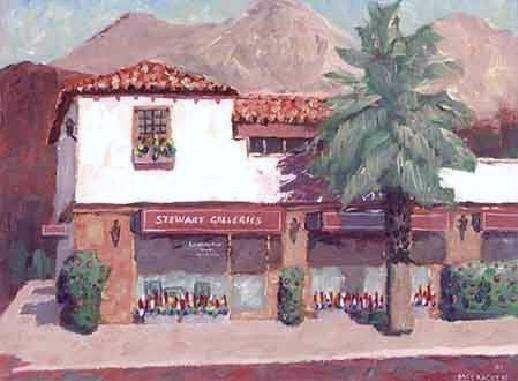 斯图尔特画廊棕榈泉加利福尼亚索引页