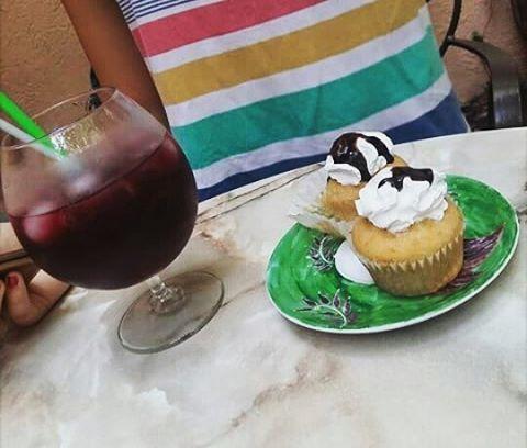 #cupcakes #icetea