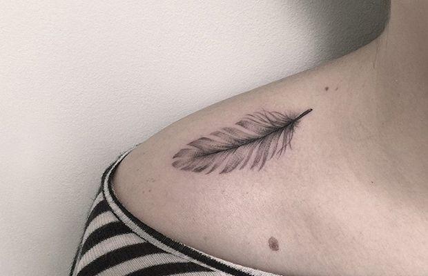Tattoos em linhas finas e muita precisão nos traços de Marla Moon. A artista é especializada em tinta preta e estilo blackwork/linework. Inspire-se!