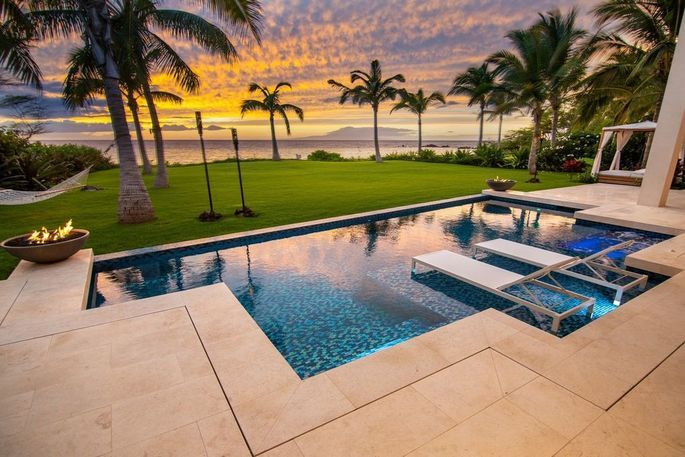 Aloha Check Out The 10 Most Expensive Homes In Hawaii Right Now In 2020 Swimming Pool Designs Expensive Houses Pool Designs
