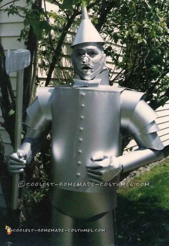 Challenging Tin Man Costume