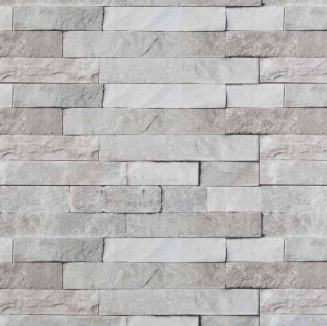 Grey Brick Plastic Upvc Wall Panels