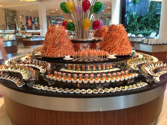 Calista Luxury Resort: Buffet des entrées commons