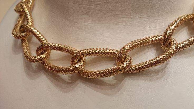 Collana in oro 18 kt
