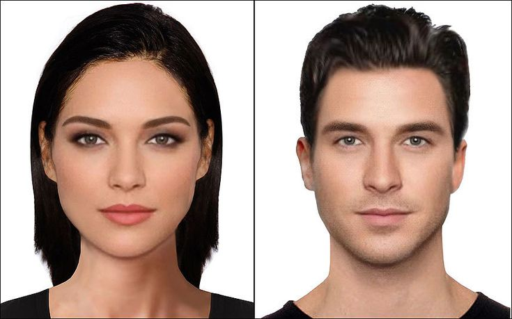 Scientists have used e-fits to create portraits of the most beautiful man and   woman in the world - and say David Gandy and Natalie Portman are the closest   real life examples