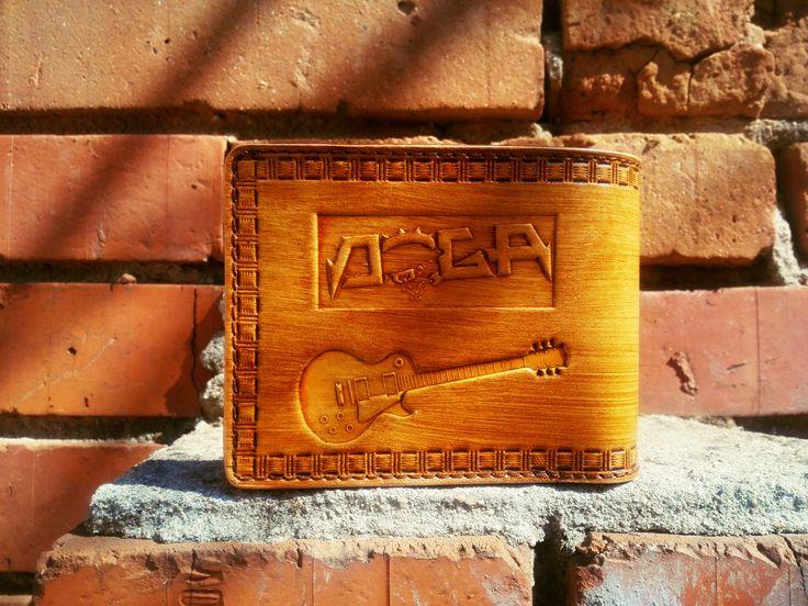 Pánská peněženka, Doga, zadní strana.
