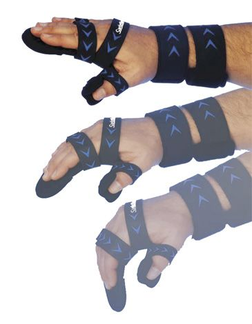 The SaeboStretch® is a revolutionary new award winning dynamic hand splint  for individuals suffering from neurological injuries such as stroke. The splint helps  to prevent joint damage while improving and maintaining range of motion. #saebo #rehab