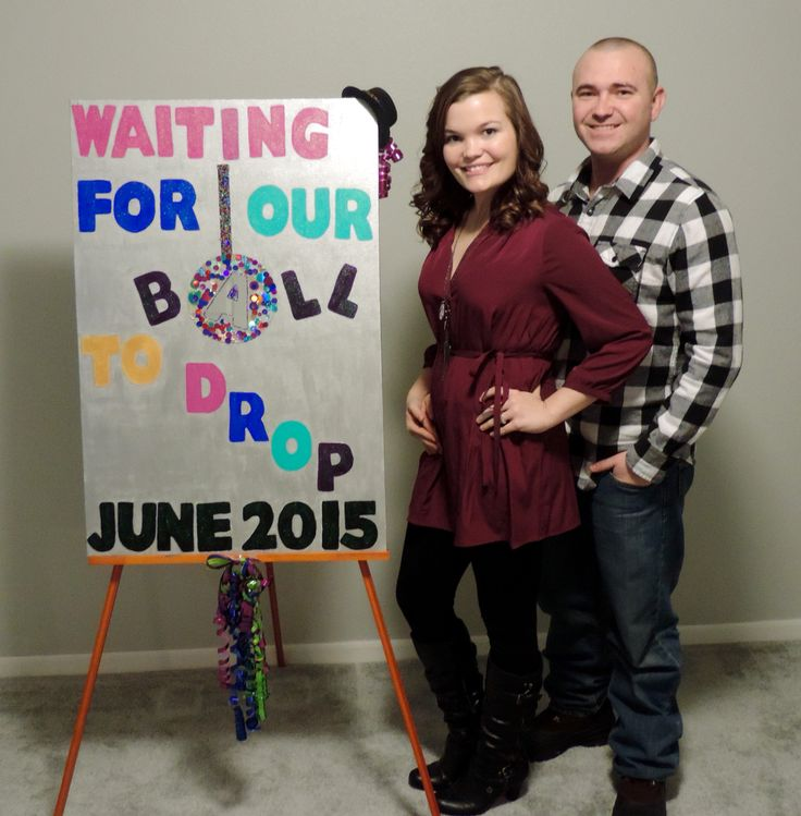 New Years Eve Pregnancy Announcement- 17 Weeks