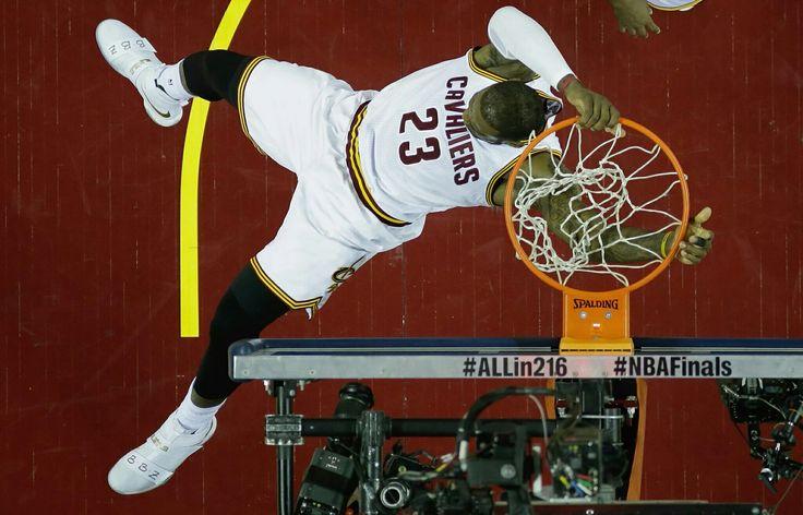LeBron James. Game 6 2016 NBA Finals.