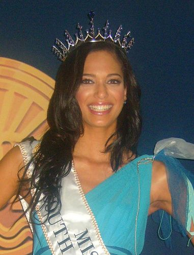 Miss SA - 2008 - Tatum Keshwar and second runner up at Miss World