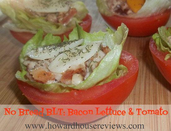 No Bread BLT's: Bacon Lettuce Tomato Appetizer Recipe