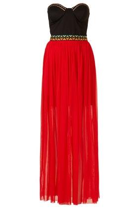 Maxi robe aztèque Rare