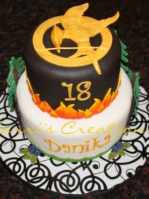Best Cakes Hunger Games Images On Pinterest Hunger Games - Cake birthday games