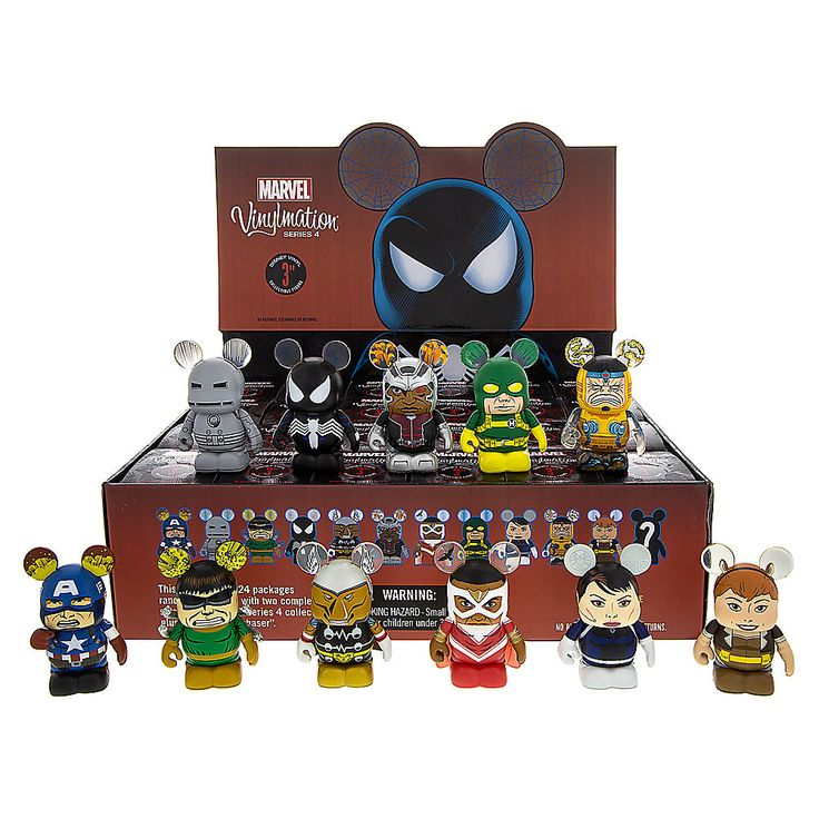 Marvel Series 4 Vinylmation Out Now