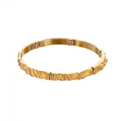 Egina 14K Gold Bracelet / Lapponia Jewelry / Handmade in Helsinki