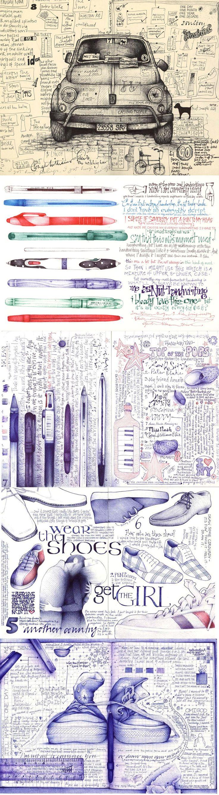 Art of Sketchezzz... Andrea Joseph http://andreajoseph24.blogspot.ca/ @AndreaJoseph #Sketch #Creative #SketchPad
