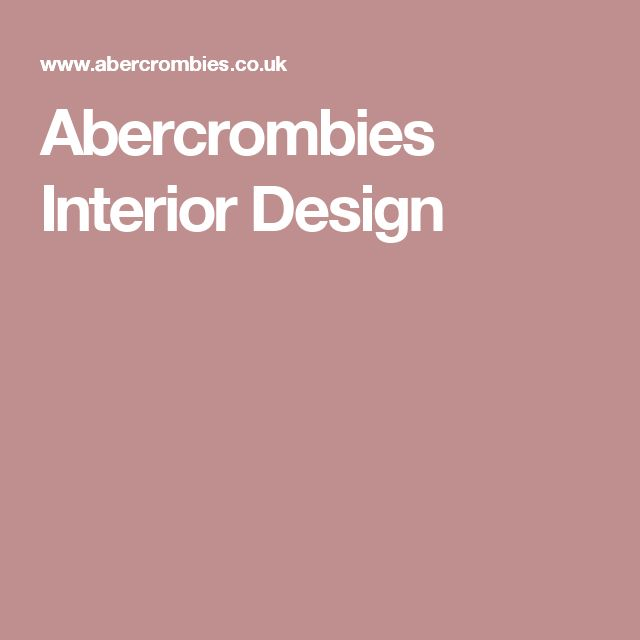 Abercrombies Interior Design