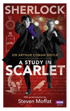 Sherlock Holmes by Conan Doyle. I love the style of Sherlock since I was 12 years old...