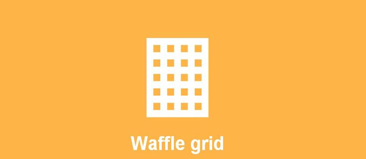 Waffle Grid – Easy to Use Flexbox Grid System