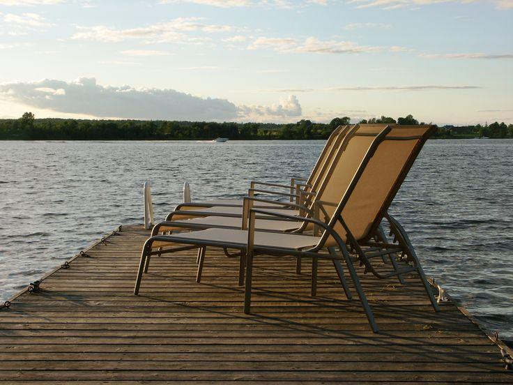 Summer is coming!  I'll kick back on Howe Island, Ontario...